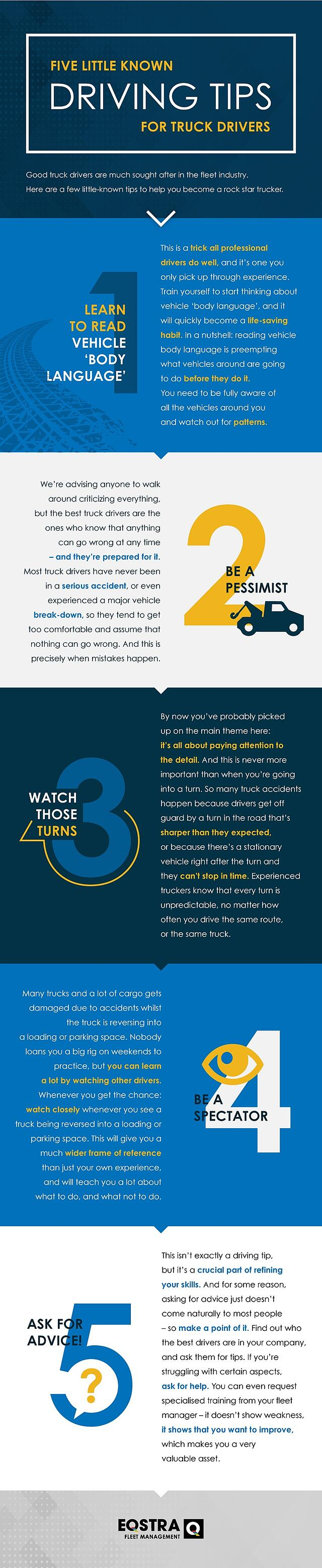 5 Little known tips for truck drivers infographic.jpg
